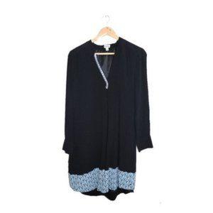 Hatley Black Long Sleeve Tunic Style Dress